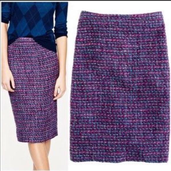 J. Crew Dresses & Skirts - J Crew No 2 Pencil Skirt Tweed